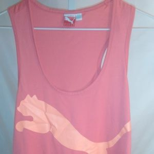 Ladies Puma Athletic Tank Top Style Shirt (M)